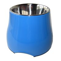 Dogit 2 in 1 Elevated Dog Bowl 900mL Blue